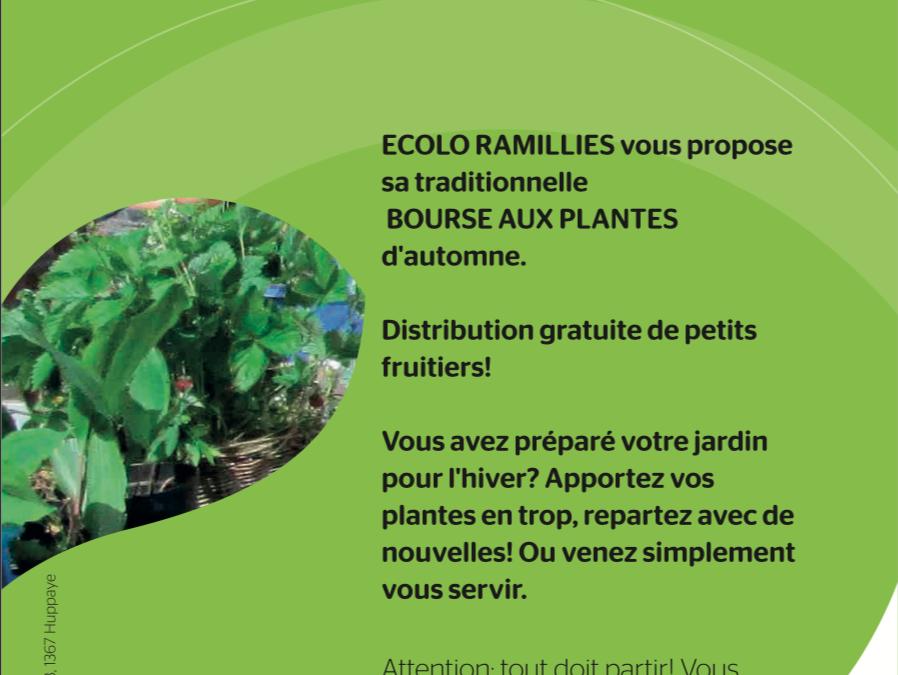 Bourse aux plantes – automne 2019