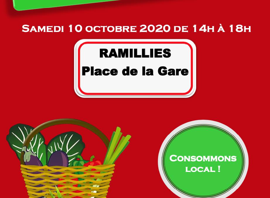 Un marché à Ramillies ?