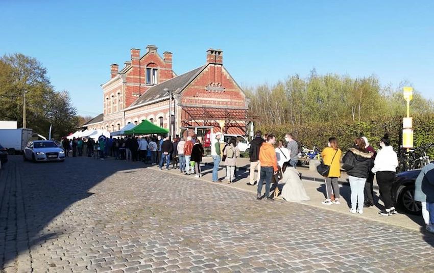 600 visiteurs au marché des producteurs à Ramillies